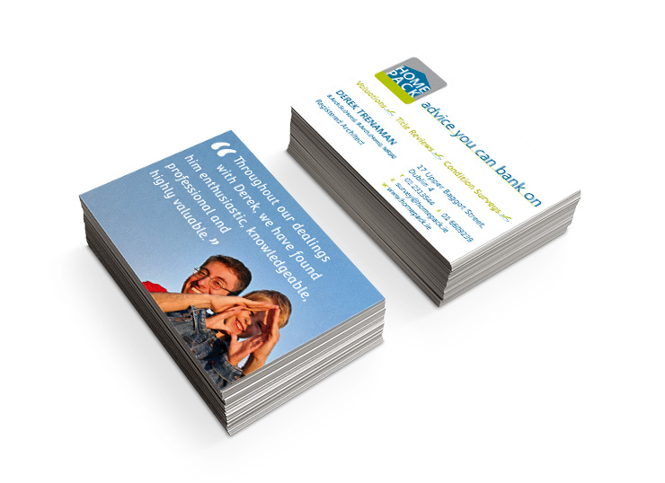 Homepack Business Cards