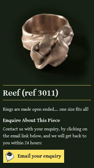 Celtic Jewellery Dublin Ring - mobile