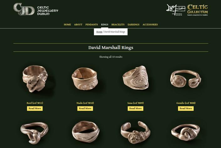 Celtic Jewellery Dublin Rings