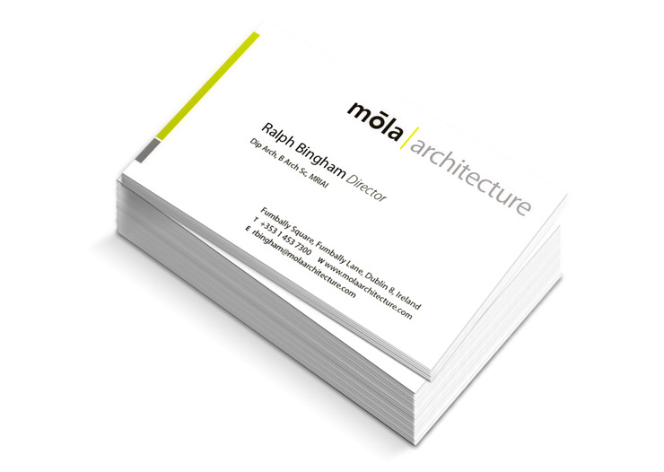 MOLA business card