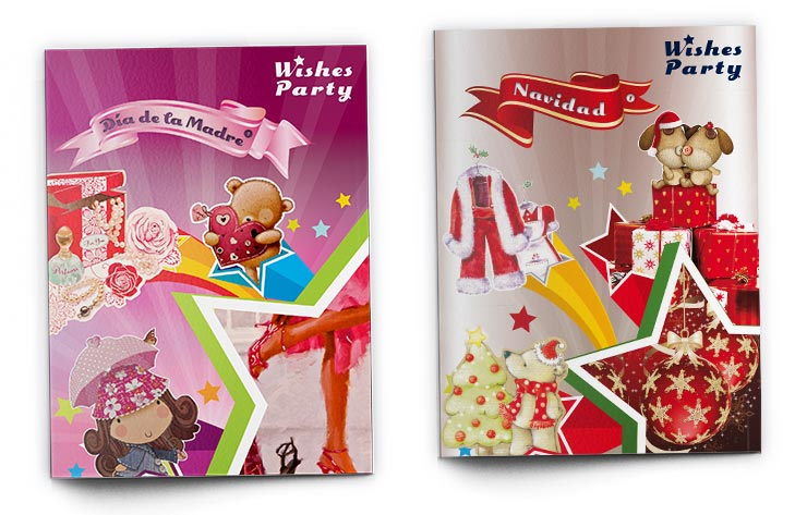 Wishes Party Brochures