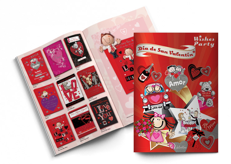 Wishes Party Valentines Day Brochure