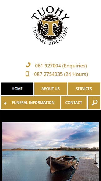 Tuohy Funeral Directors Home